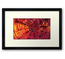 A Broken Heart's Tessellations & Hex Vortex Framed Print
