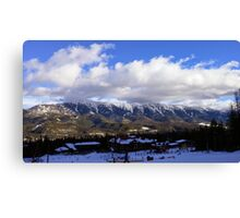 Mountain01 Canvas Print