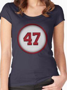 47 - Glavine Women's Fitted Scoop T-Shirt