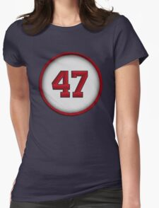 47 - Glavine Womens Fitted T-Shirt