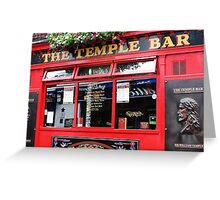 Temple Bar, Ireland Greeting Card