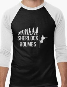 Sherlock Holmes the evolution of man Men's Baseball ¾ T-Shirt