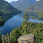 Lake Diablo, Washington by Rhonda R Clements