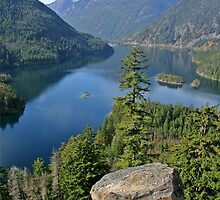 Lake Diablo, Washington by Rhonda R Clements