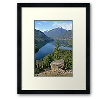 Lake Diablo, Washington Framed Print