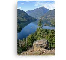 Lake Diablo, Washington Canvas Print