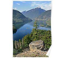Lake Diablo, Washington Poster