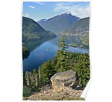 Lake Diablo, Washington Poster
