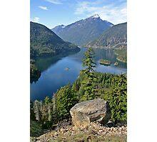 Lake Diablo, Washington Photographic Print
