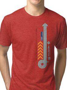 FX-300 League Abstract T-Shirt Tri-blend T-Shirt