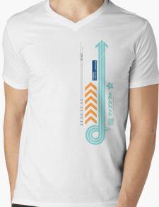 FX-300 League Abstract T-Shirt Mens V-Neck T-Shirt