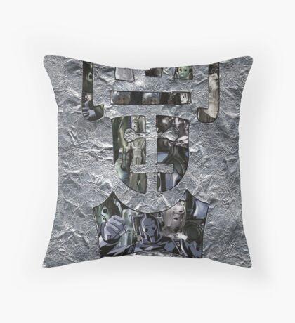 Rise of the Cybermen Throw Pillow
