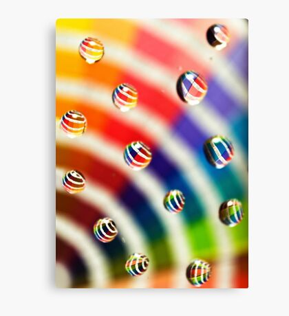 Pantone Bubbles Canvas Print