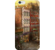 Fireman - Washington DC - Fire at Bedell's Bedding 1915 iPhone Case/Skin
