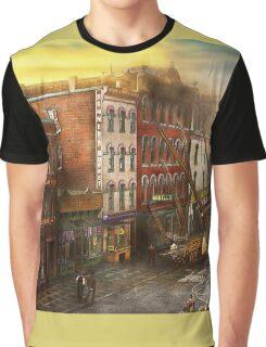 Fireman - Washington DC - Fire at Bedell's Bedding 1915 Graphic T-Shirt