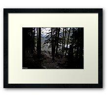 Goldrush Cemetary Framed Print