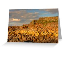 Giants Causeway, County Antrim, Northern Ireland Greeting Card