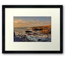 Giants Causeway, County Antrim, Northern Ireland Framed Print