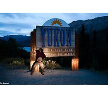 Modelling for the Yukon Photographic Print