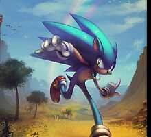 """Sonic the Hedgehog - """"Time Doesn't Wait"""" by MylaFox"""