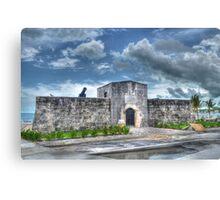 Fort Montagu in Nassau, The Bahamas Canvas Print