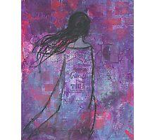 Warrioress :: Wind-Swept Divine Feminine Photographic Print