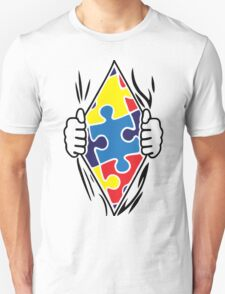 Autism Superhero Unisex T-Shirt