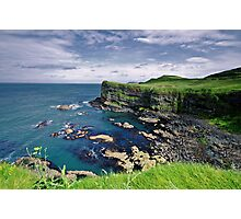 Antrim Coastline Photographic Print