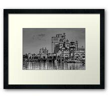 Atlantis Towers in Paradise Island, The Bahamas Framed Print