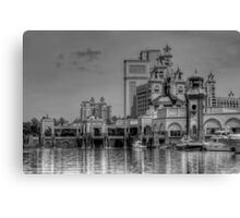Atlantis Towers in Paradise Island, The Bahamas Canvas Print