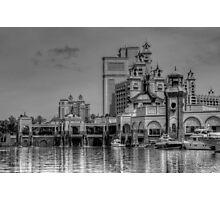 Atlantis Towers in Paradise Island, The Bahamas Photographic Print