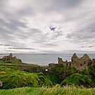 Dunluce Castle Wide View by Michelle McMahon