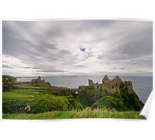 Dunluce Castle Wide View Poster