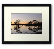 Outback Reflections Framed Print