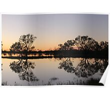 Outback Reflections Poster