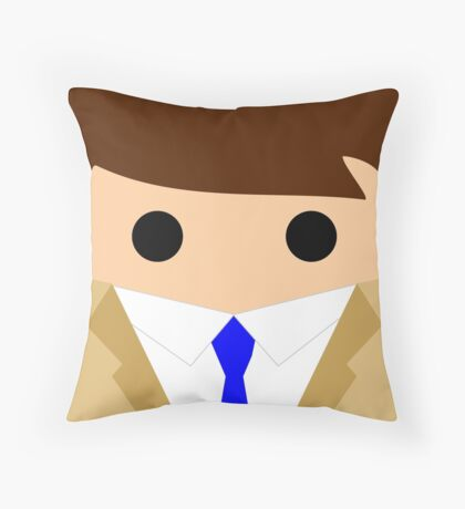 Castiel Throw Pillow