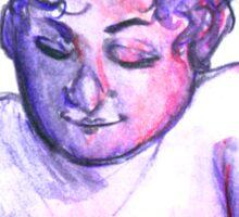 Purple Person Sticker