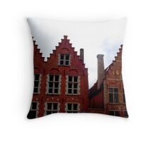 stairs for the chimney sweep Throw Pillow
