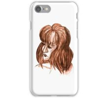 Brown Bust iPhone Case/Skin