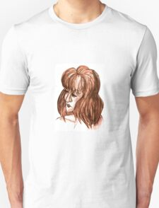 Brown Bust Unisex T-Shirt
