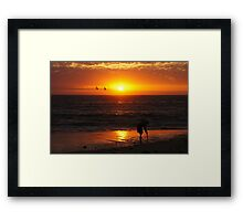 Ball Of Fire 2 Framed Print