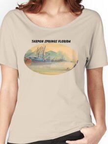 Tarpon Springs Florida - Sponge Docks Women's Relaxed Fit T-Shirt
