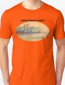 Tarpon Springs Florida - Sponge Docks T-Shirt