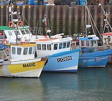 Scarborough fishing boats by m1dpq