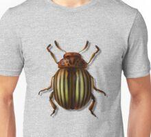 Leptinotarsa septemlineata Unisex T-Shirt