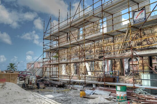 Work to rebuild Pompey Museum - Nassau, The bahamas by 242Digital
