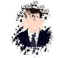 Moriarty Paint Splatter Photographic Print