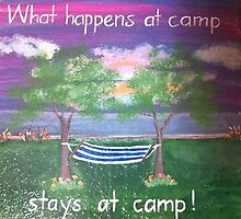 """What Happens at Camp""  by Melissa Goza"