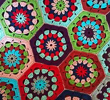 Crochet Kaleidoscope by JennsTreasures
