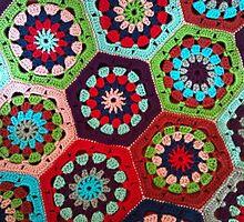 Crochet Kaleidoscope by JennsTreasures